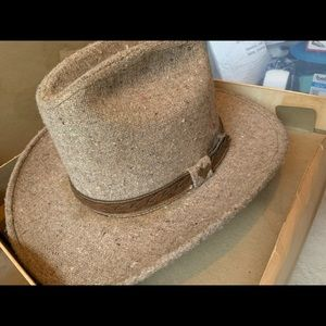 Vintage Champ Wool Western Hat